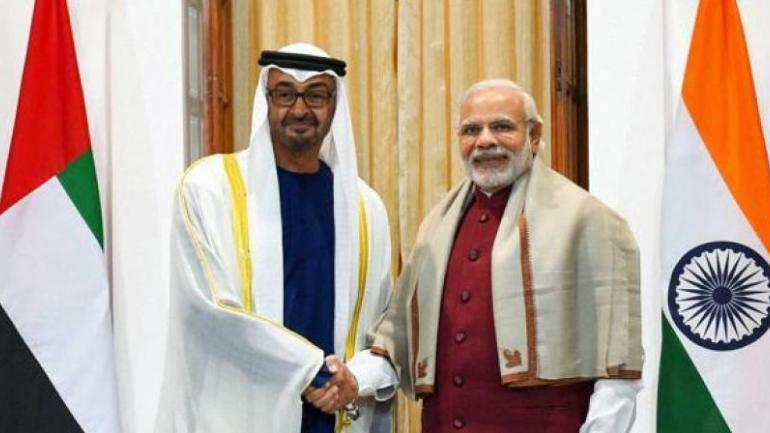 Image result for UAE's top honour for PM Narendra Modi