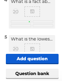 Kahoot add a questions
