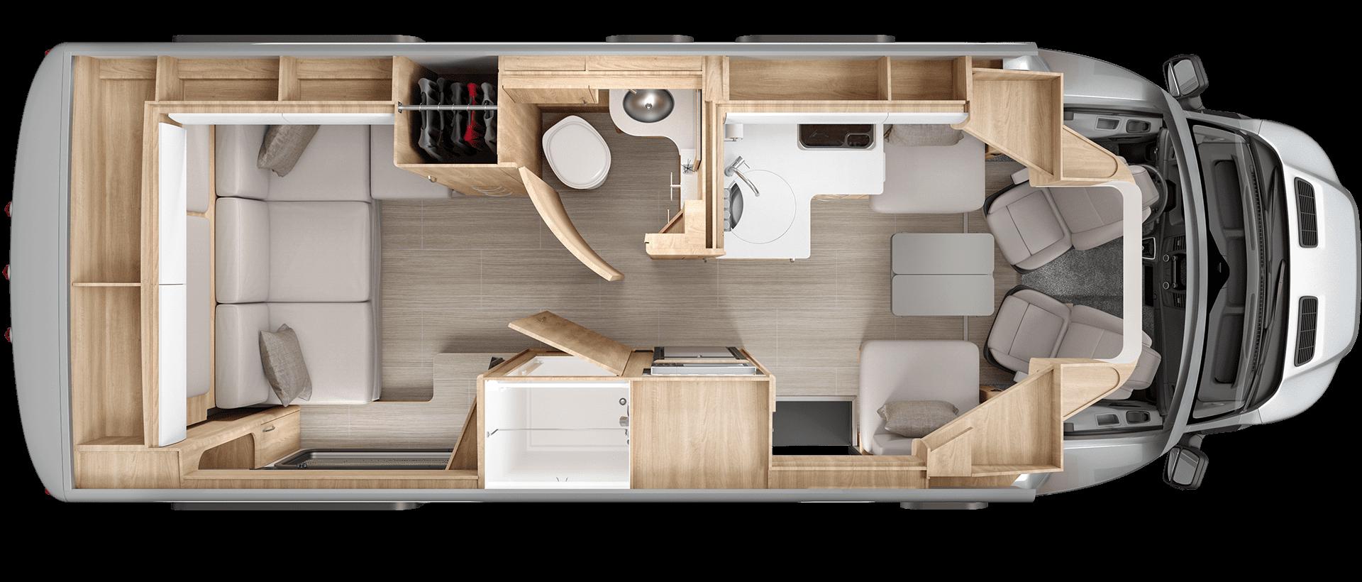 Leisure Travel Vans Wonder cheaper version of airstream class c unique floor plans