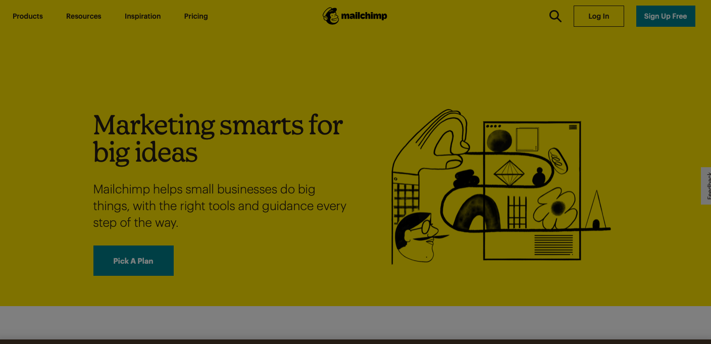 MailChimp email marketing tool for ecommerce