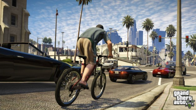 Grand Theft Auto V is set in Los Santos, a fictional version of the real-world location of Los Angeles.