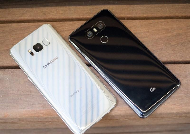 So sánh LG G6 và Samsung S8: Đâu là chiếc điện thoại thời thượng?