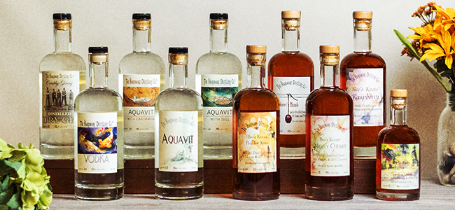 The Hoodsport Distillery's Craft Collection