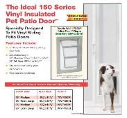 dog door in glass door