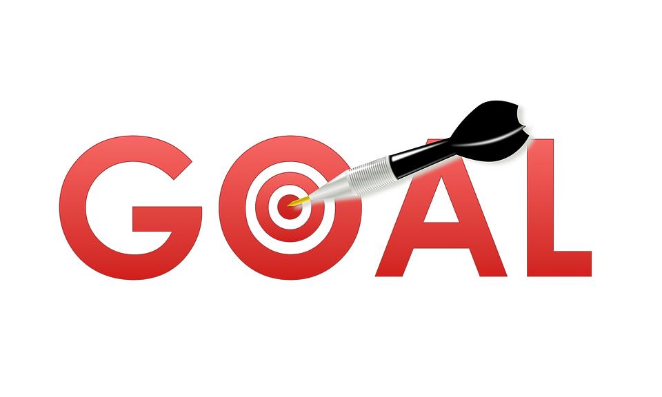 Goal Setting, Goal, Dart, Target, Success, Achievement