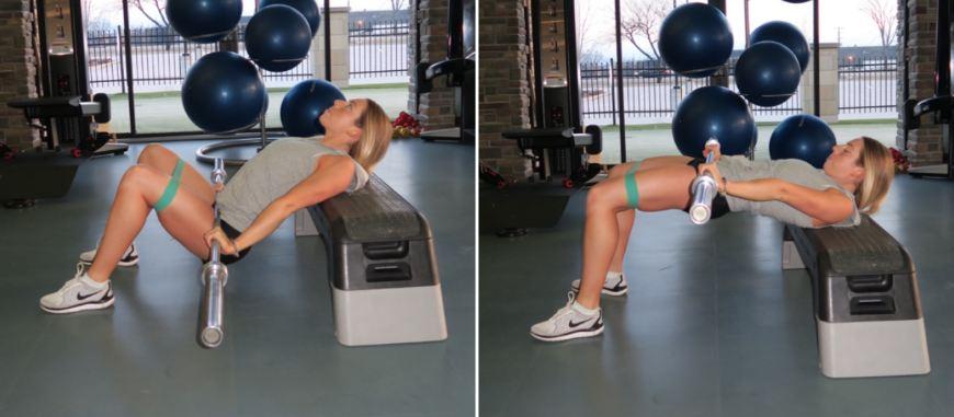 Hip Thrusts з резинкою та штангою - найкраща активація сідниць