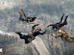COD Warzone Parachute