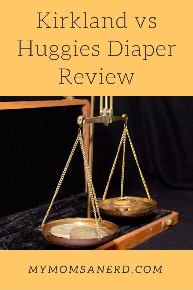 Kirkland diapers vs Huggies diapers review, including Costco diaper review!