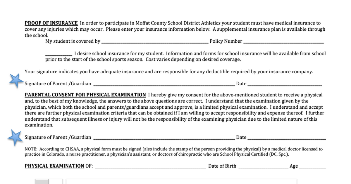 sports physical form colorado  CMS Sports Physical Form Page 7 - Google Drive