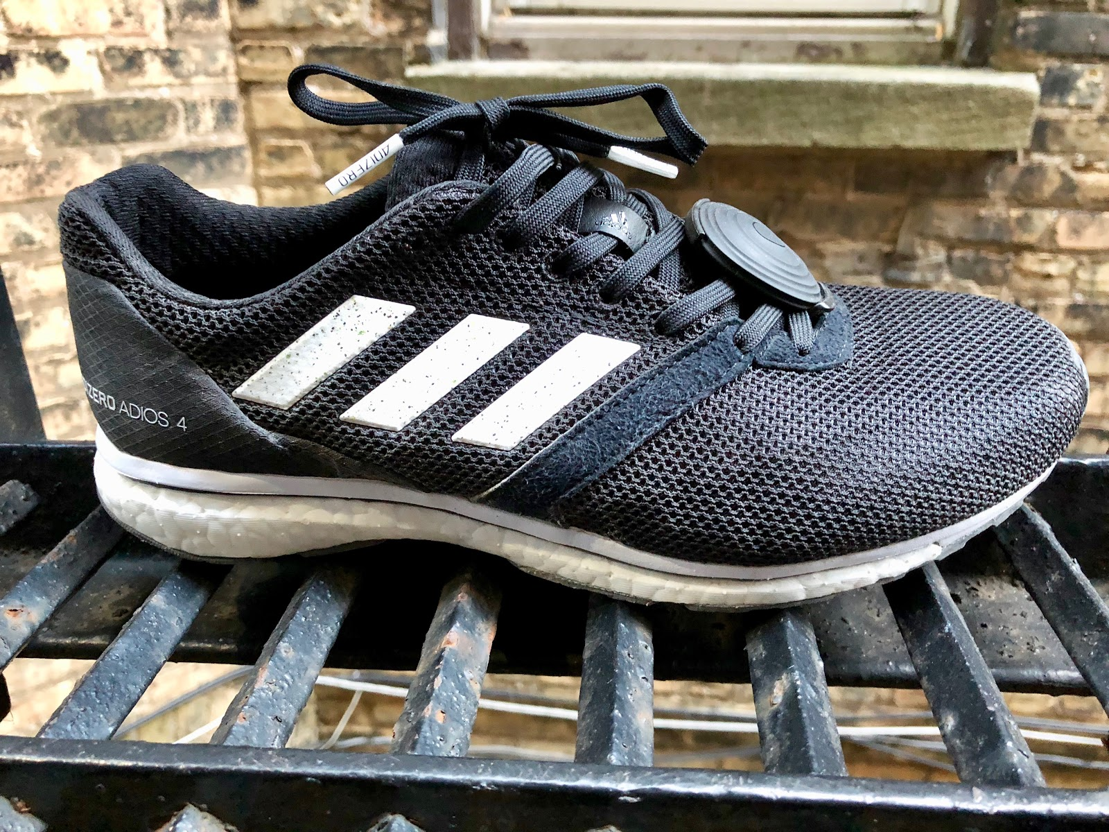 official photos 6b527 9a422 Road Trail Run: adidas adizero adios 4 Review: Fast Classic ...