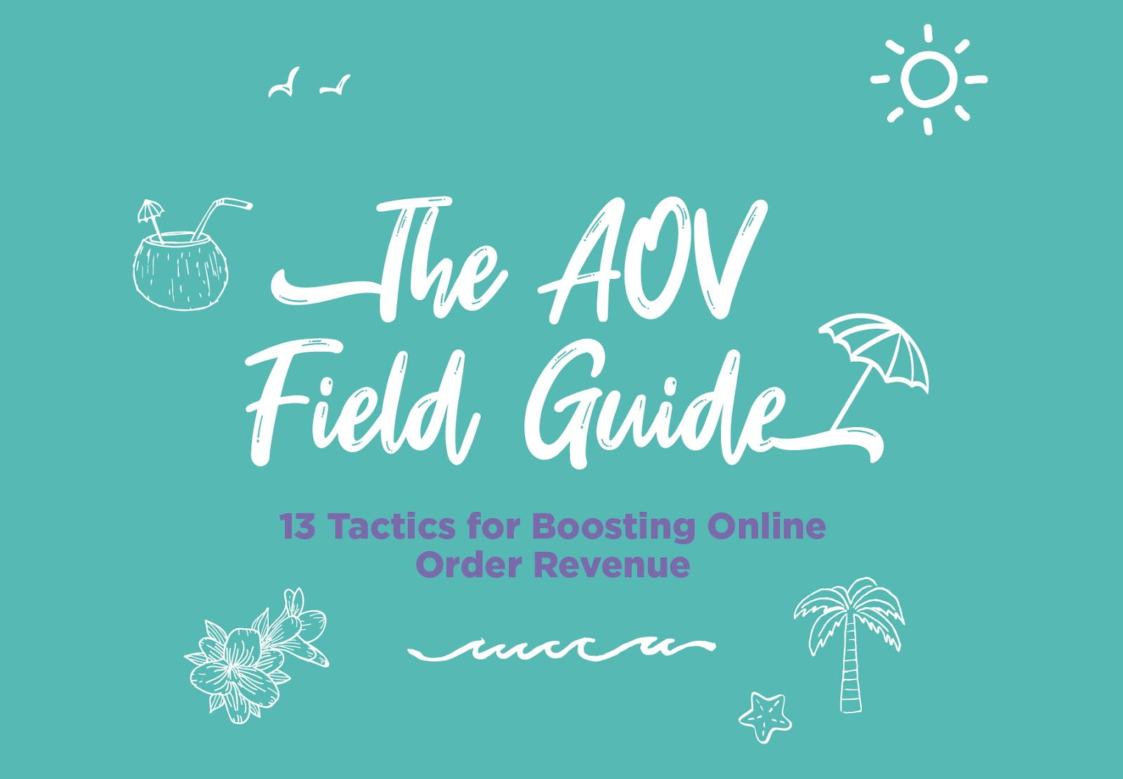 The AOV Guide: 13 Tactics for Boosting Order Revenue [INFOGRAPHIC]