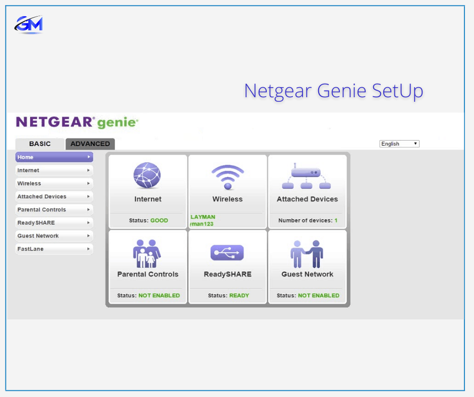 NETGEAR Genie set up