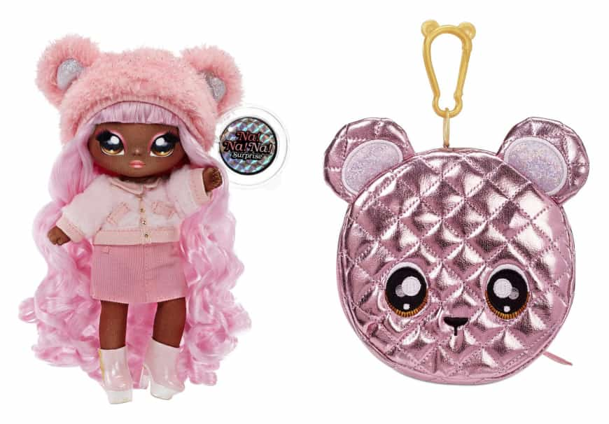 nanana surprise glam series cali grizzly