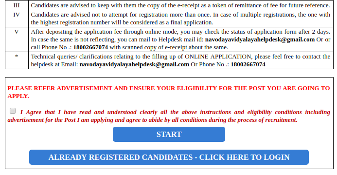 NVS Recruitment 2019: 2370 PGT, TGT, Staff Nurse, LDC & various Vacancy