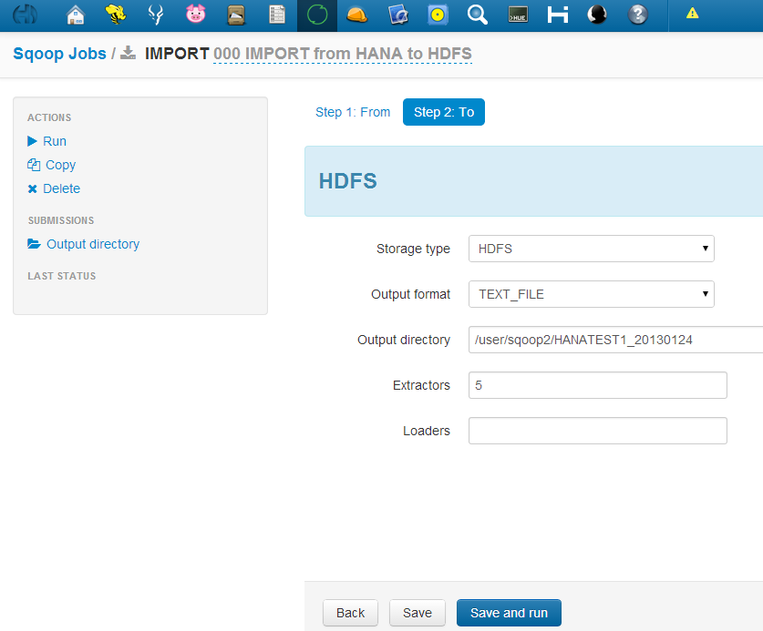 Exporting and Importing DATA to HANA with HADOOP SQOOP | SAP