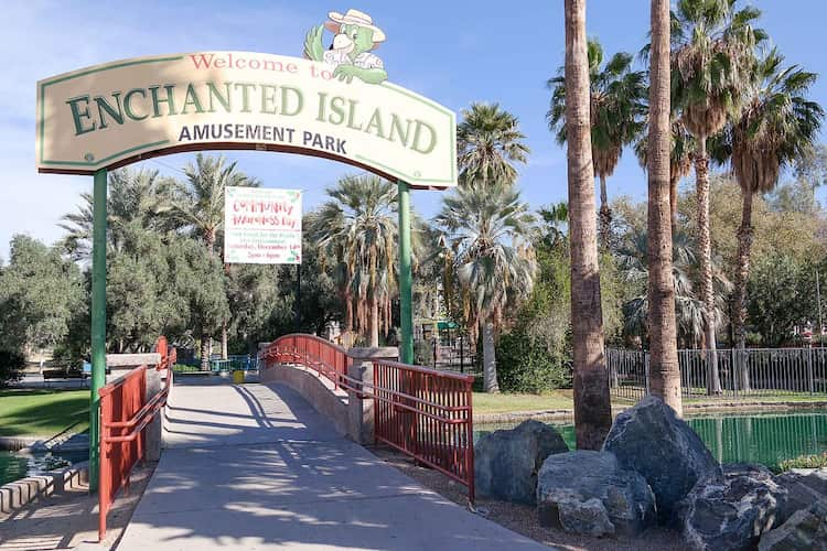 Enchanted Island front entrance