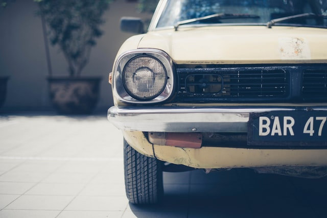 špz, výmena špz za novú, retro auto
