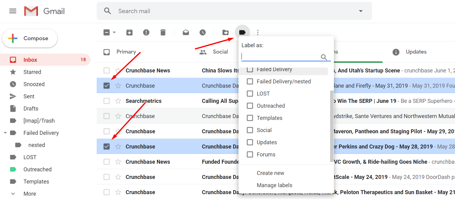 How to Create Gmail Labels and Drastically Improve Productivity - manage labels - autoklose.com