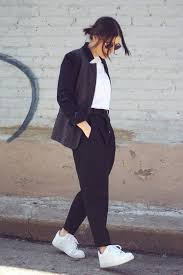 Image result for air forces worn with blazer