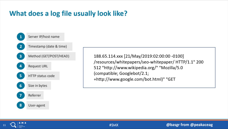 Bir Log dosyasını nasıl görünür
