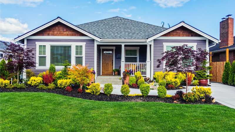 landscaping is a great home improvement project for the summer