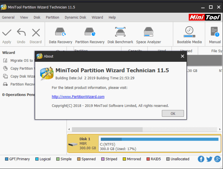MiniTool Partition Wizard Technician c.r.4.c.k 12.0