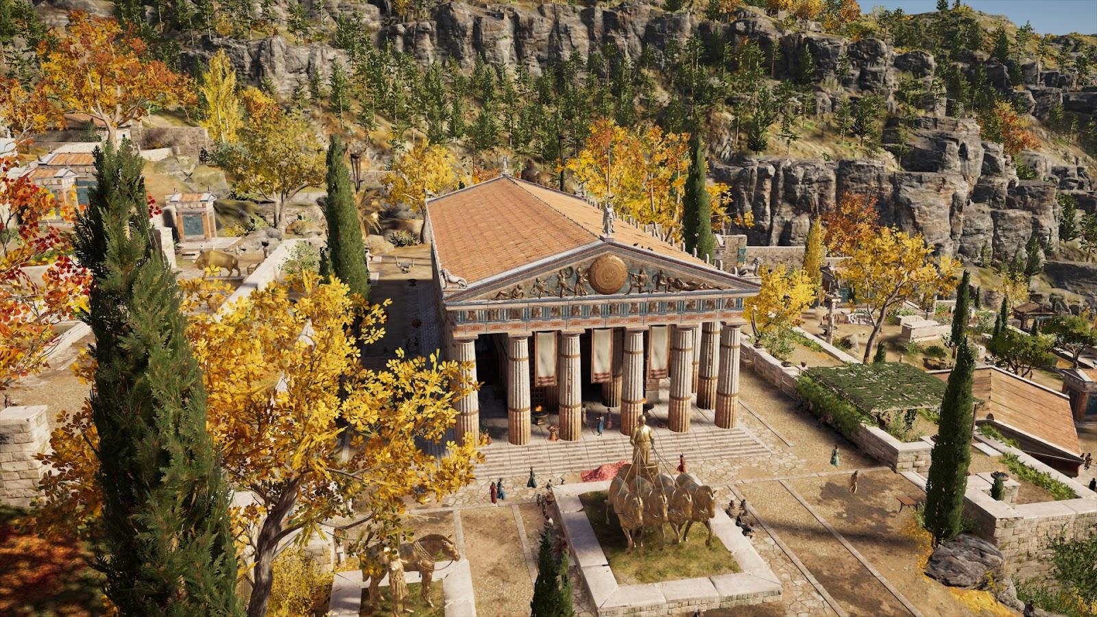Delphi interpretation from the game Assassins Creed