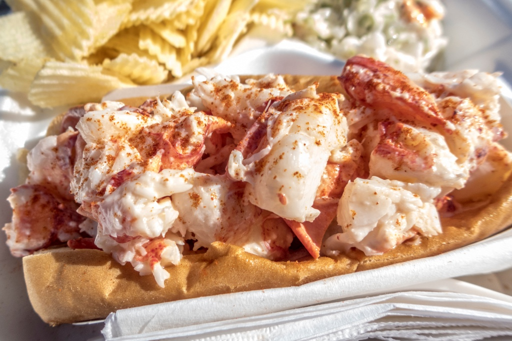 9. Try a lobster roll