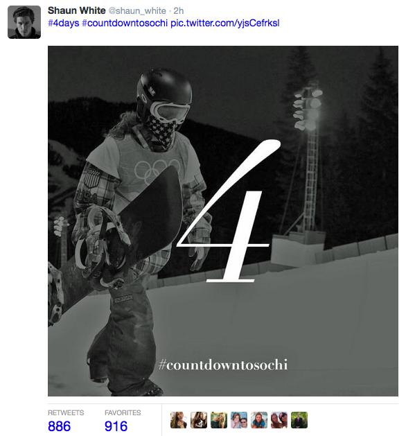 Shaun White Twitter Image