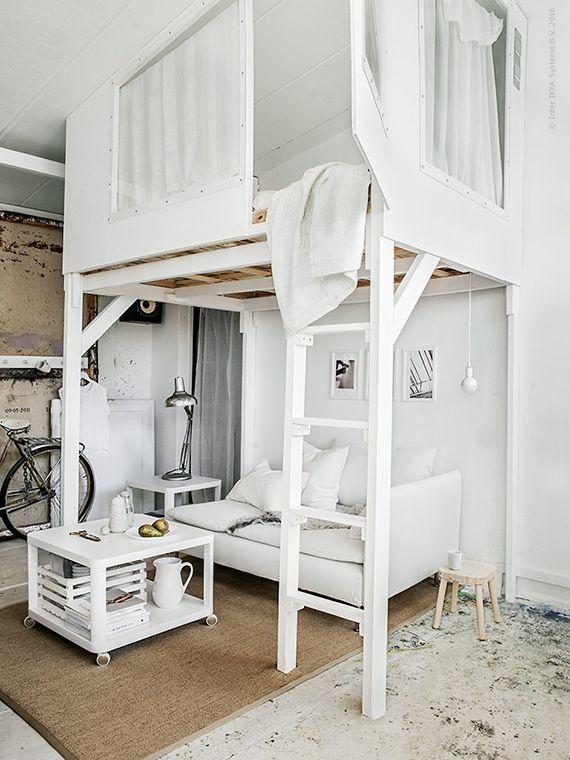 Cozy Loft Bed Ideas