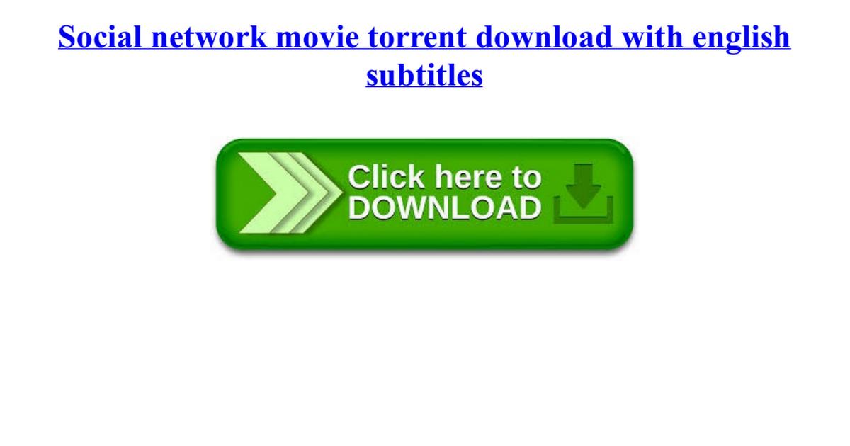 social network movie torrent download