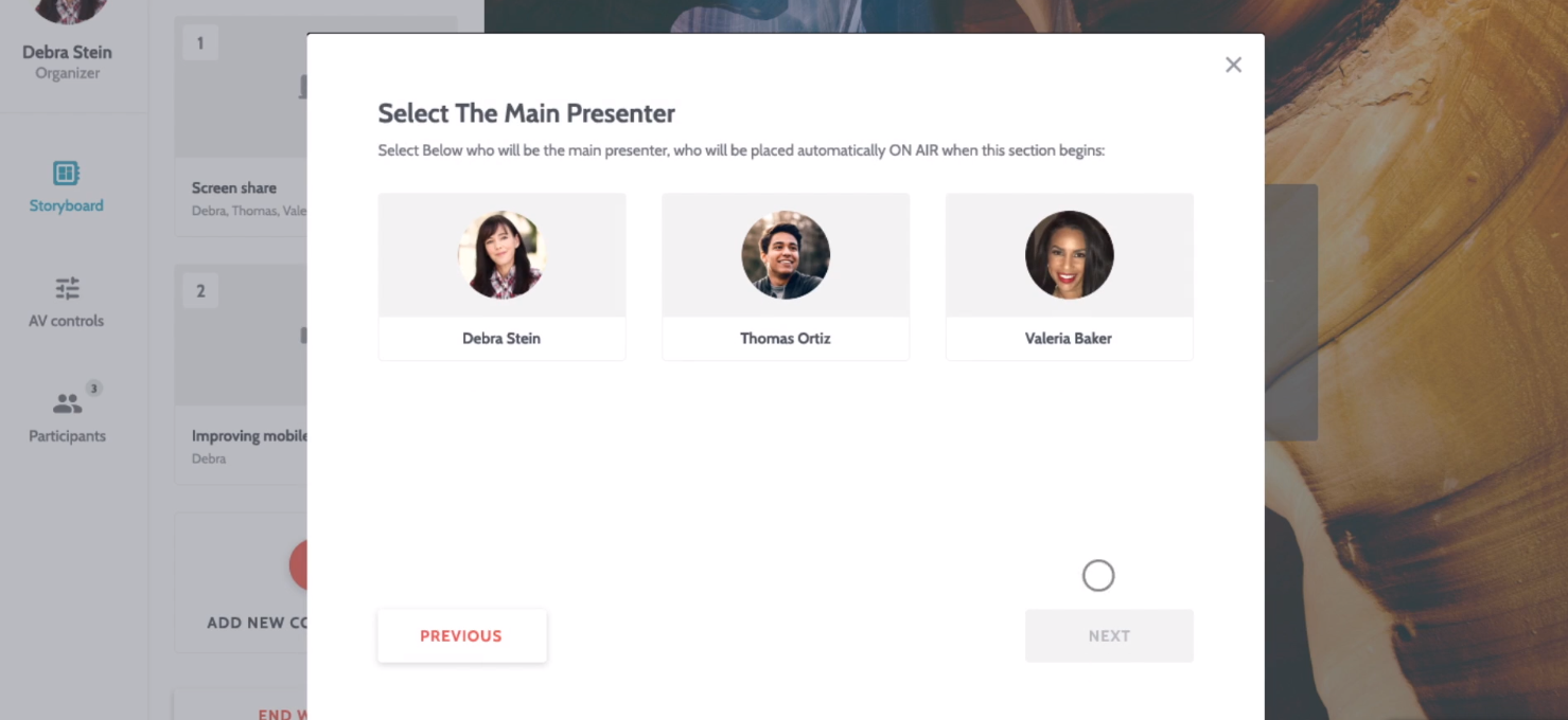 Flow's Smart Storyboard