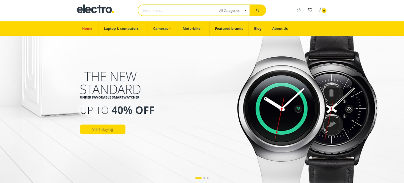 Digital products magento theme electro
