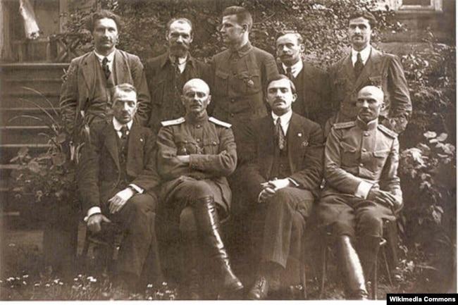 Члены Рады БНР, 1918 год