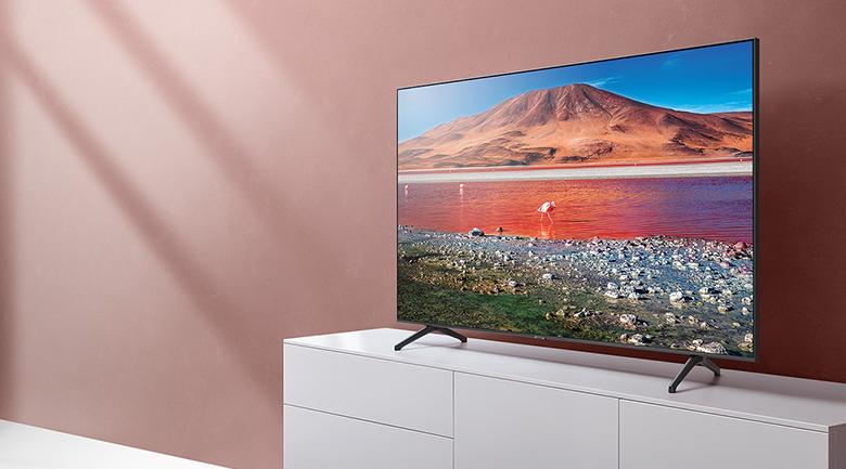 Smart Tivi Samsung Crystal UHD 4K UA55TU7000KXXV - 55 inch