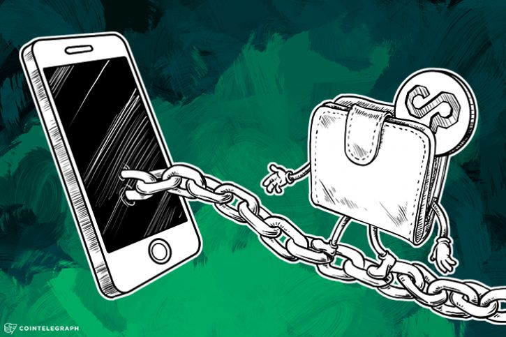 Mobile crypto wallet and a chain