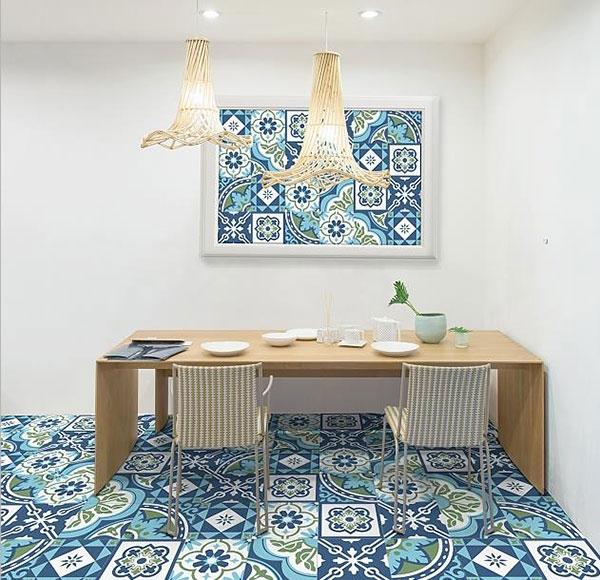 Gạch ốp tường phù hợp với mọi không gian trong nhà