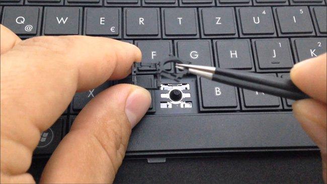 Khắc phục một số hiện tượng bàn phím laptop bị hư hỏng