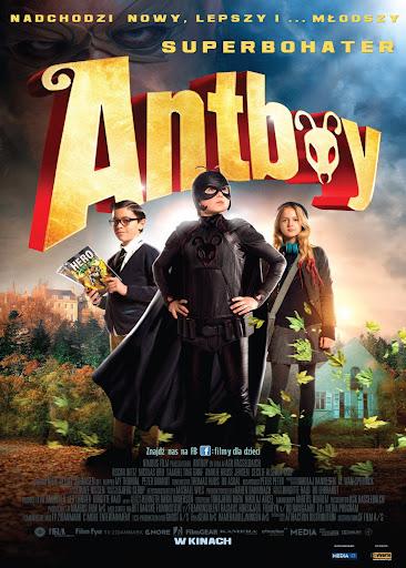 Polski plakat filmu 'Antboy'