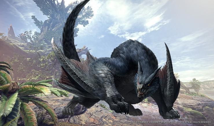 Nargacuga Monster Hunter: Freedom Unite.