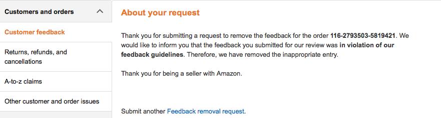 2 Tested Ways to Remove Negative Feedback on Amazon