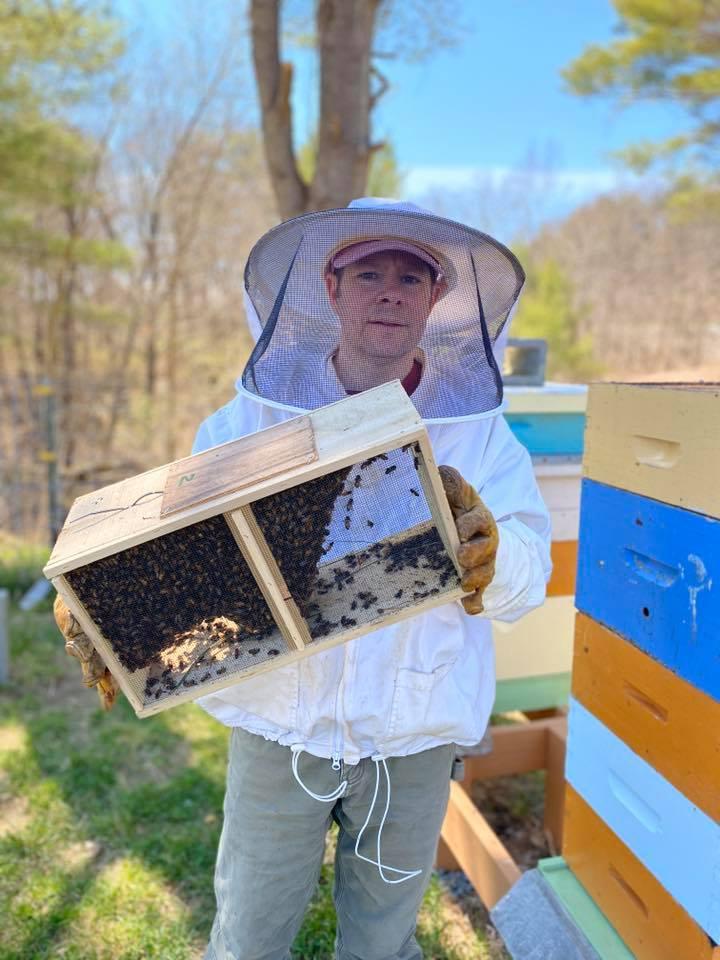 Gonyaw with Bee Hive