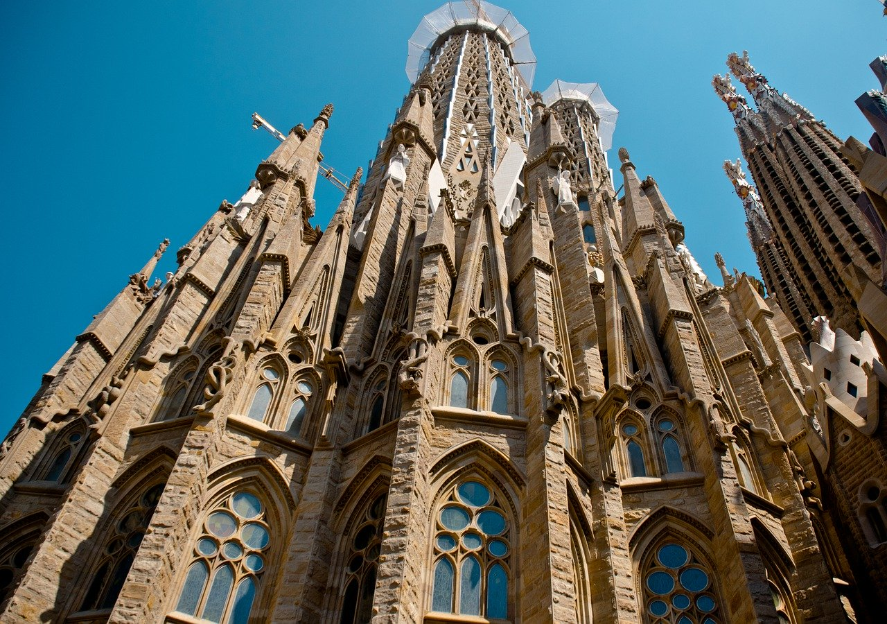 Facades of Sagrada Familia