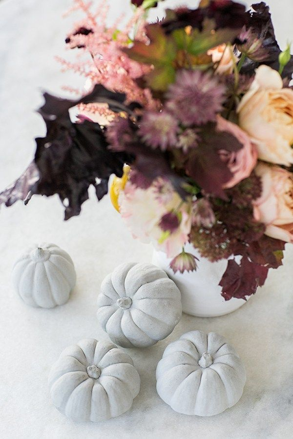 festive fall pumpkins