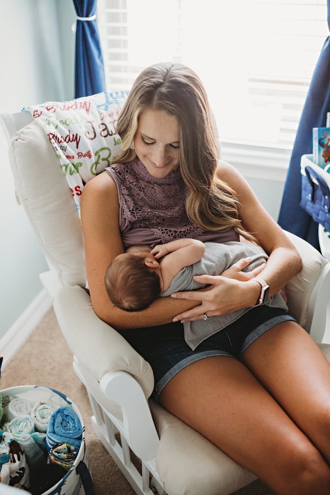 The benefits of breastfeeding are amazing and provide both the mother and baby with countless positive experiences during the first year of life.