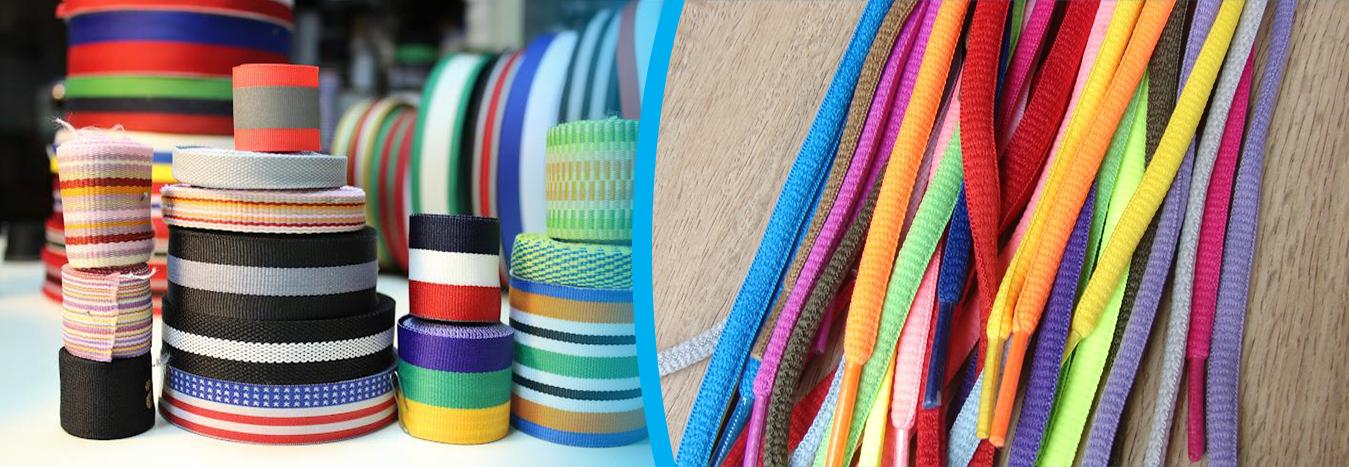 Dây thun dệt đạt chuẩn phải thẳng đều, mềm mại và có màu sắc hài hòa