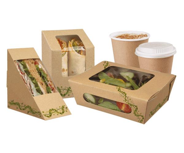 Take away boxes are more reliable, elegant and easy to handle