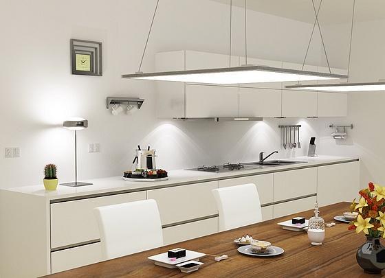 Подвесные модели подчеркнут дизайн и высокие потолки помещений