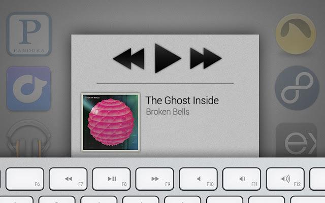 Media Keys by Sway.fm chrome extension
