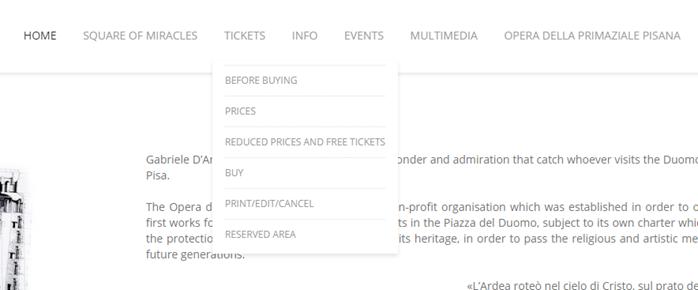 Пизанская башня как купить билеты